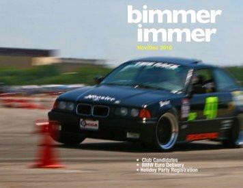 November/December 2010 - Badger Bimmers