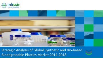 Biodegradable Plastics Market 2014-2018