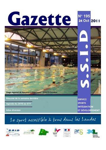 Gazette n°195 - drjscs