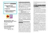 Hypnose in 3 Kontexten - Institut Systeme