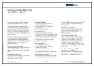 Download faktaark om Sundhedsikring for mere ... - Danske Bank