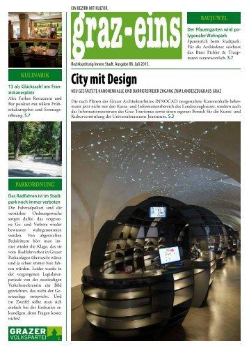 City mit Design - graz-eins ePaper