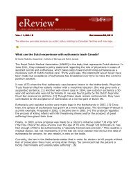 What can the Dutch experience with euthanasia teach Canada? The ...