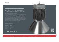 HighLUX 300/350 - Lichtline