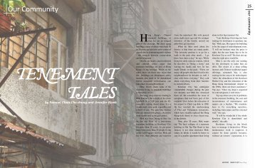 Tenement tales - The Chinese University of Hong Kong