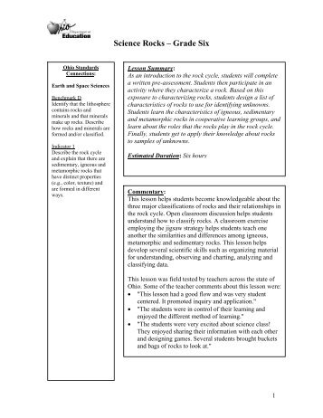 Visions Of Poetry Grade Four Ode Ohio Department Of Education