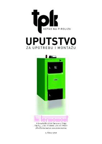 Prhovacka bb 22310 Simanovci, Srbija Tel/Fax. +381 ... - Termomont