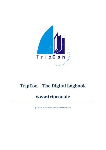 TripCon – Das Digitale Logbuch