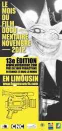 Le Mois du Doc en Limousin 2012 - Les Yeux Verts