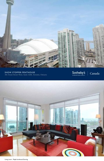 show stopper penthouse - Sotheby's International Realty Canada