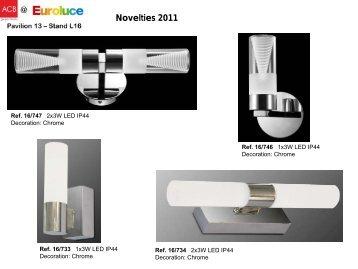 Novelties 2011 - PROFI lighting