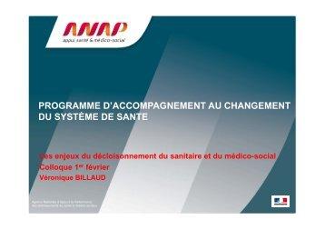 Téléchargez la présentation - Anap