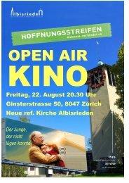 Love in Action Flyer für Homapage 1 - Kirchgemeinde Albisrieden