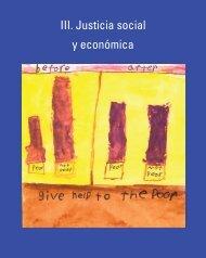 III. Justicia social y económica - Earth Charter Initiative