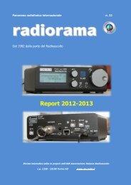 scarica radiorama web report 22 in formato pdf cliccando qui - AIR