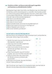 Checkliste - BALANCE buch + medien verlag