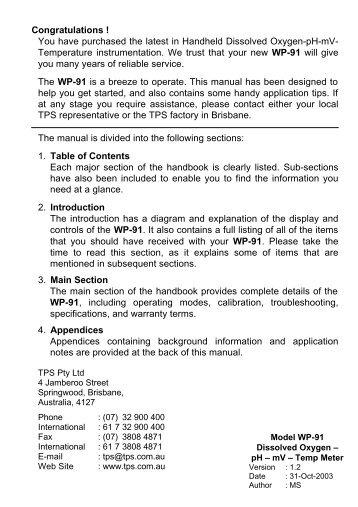 Krohne optiwave 7300c Manual