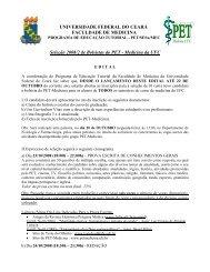 FACULDADE DE MEDICINA - Departamento de Fisiologia e ...