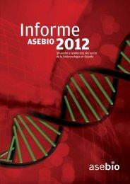 Informe Anual 2012 - Asebio
