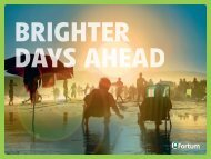 Brighter days ahead - Fortum