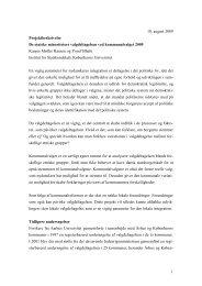 Se projektbeskrivelsen - Ny i Danmark