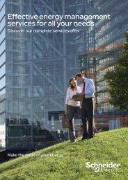 Energy management services brochure