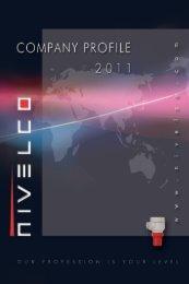 NIVELCO Company profile 2011 - Nivelco Process Control Co., Inc.