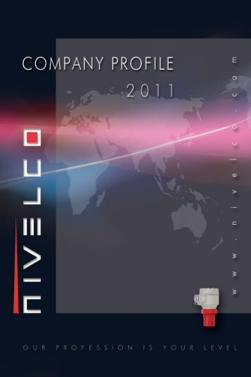 NIVELCO Company profile 2011 - Nivelco Process Control Co., Inc.