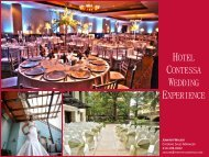 Wedding Packages - Hotel Contessa