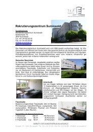 Rekrutierungszentrum Sumiswald - gruppen-unterkuenfte