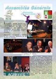 Assemblée Générale - fédération de pêche du Gers