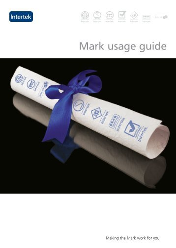 Mark usage guide - Intertek