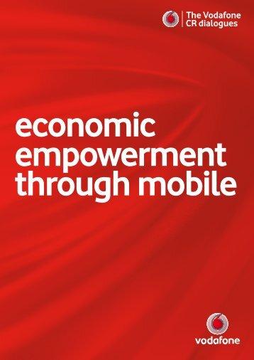 The Vodafone CR dialogues The Vodafone CR dialogues