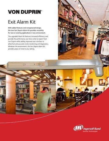 Exit Alarm Kit - Von Duprin