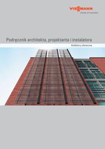 Podręcznik architekta, projektanta i instalatora - Viessmann
