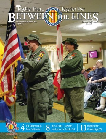 December 2012 - Vietnam Veterans of America - Chapter 20