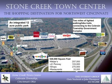 STONE CREEK TOWN CENTER - Everest Real Estate