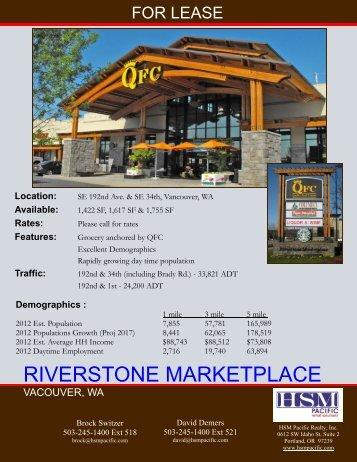 Riverstone Marketplace FCn.pub - HSM Pacific