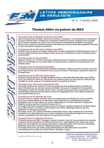 sport infos_6.qxd - Moto Station