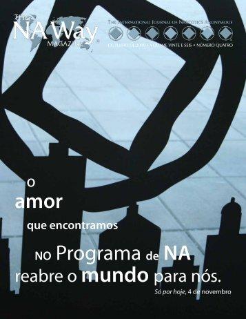 amor NO Programa de NA - Narcotics Anonymous