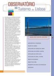 ANÁLISES DESTA EDIÇÃO - Associação de Turismo de Lisboa