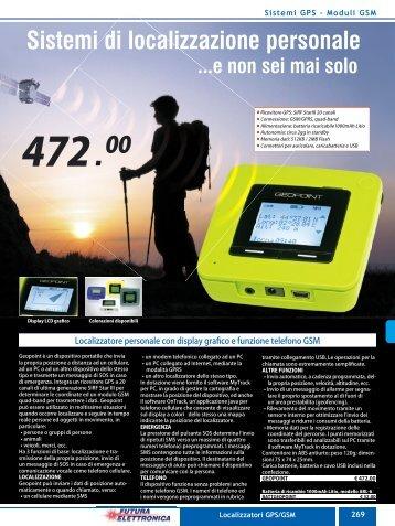 08_Sistemi GPS GSM.indd - Futura Elettronica