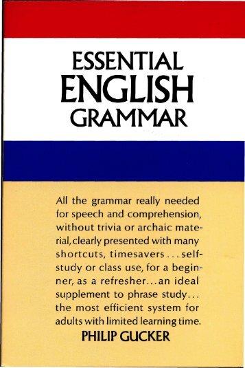 Essential.English.Grammar.pdf - Marshalls University