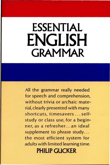 Essential.English.Grammar.pdf - Marshalls University