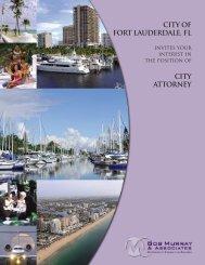 CITY OF FORT LAUDERDALE, fl - Bob Murray & Associates