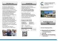 • Gesundheit und Soziales • Technik • Wirtschaft ... - BBS-Holzminden