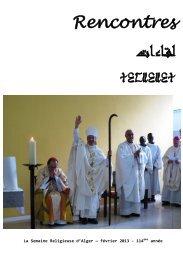 Février 2013 - Église Catholique d'Algérie