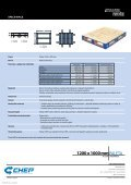 CHEP Dřevěná paleta (typ průmyslová) - Page 2