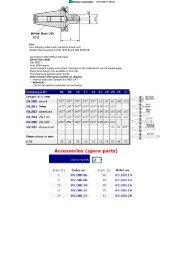 Weldon toolholder DIN 69871 SK40 - ToolSpann