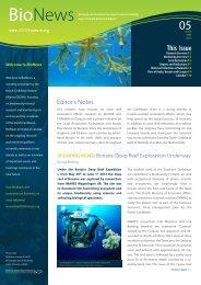 Bonaire Deep Reef Exploration Underway - Wageningen UR